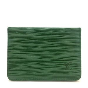 Louis Vuitton Epi Leather Credit Card/ID Wallet